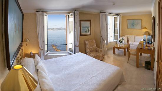 Hotel La Ponche: Junior Suite vue mer