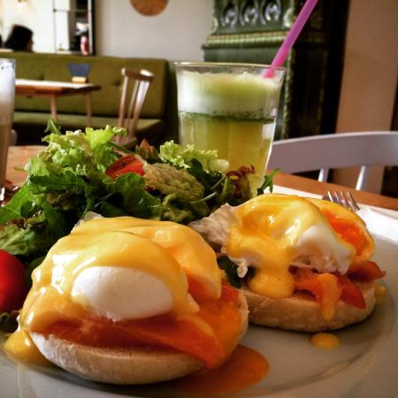 Simbio eggs norwegian - picture of simbio, bucharest - tripadvisor
