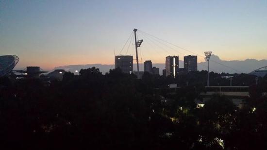 sunrise from ibis budget over olympic park picture of ibis budget rh tripadvisor com au