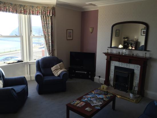 The Croft: Family bedroom & sitting room.
