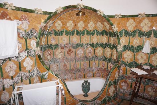 Canet de Mar, Spain: Baño modernista