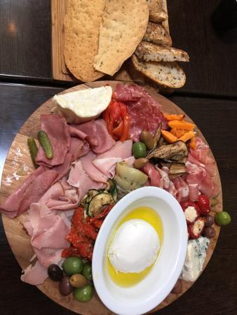 Jean Louis Joseph : Our antipasto platter to share