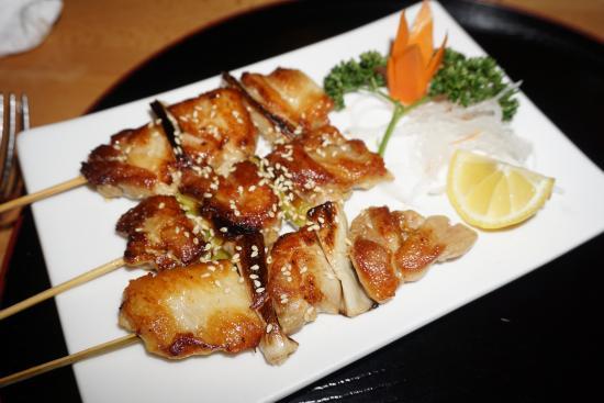 Mataró, España: Brochetas de pollo de la carta