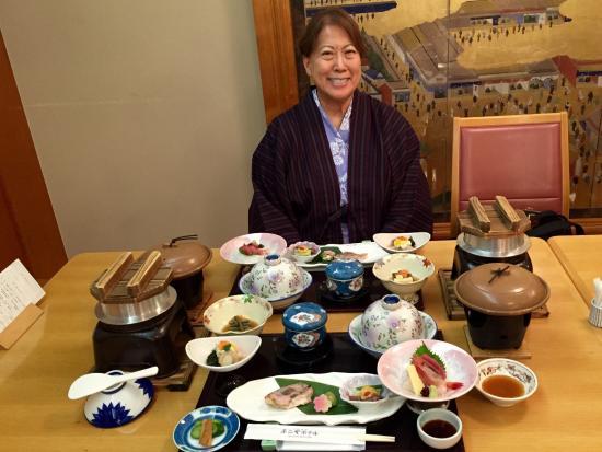 Fujiya Hotel : Kaiser dinner included