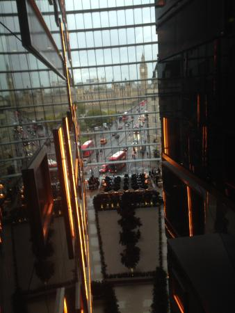 Park Plaza Westminster Bridge London Hotel Atrium View