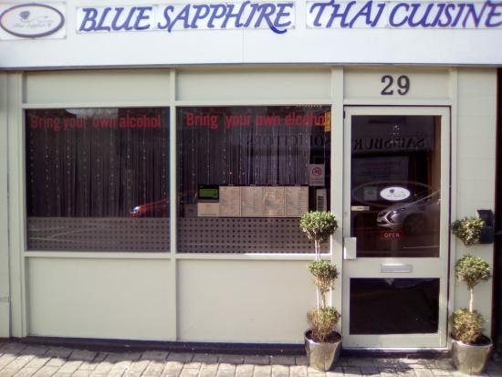 Blue Sapphire: The Front