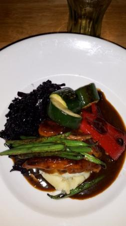 Clare, UK: veal, yum