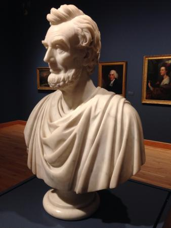 ‪‪Williams College Museum of Art‬: Bust of Abraham Lincoln - Sarah Fisher Ames, ca. 1864-66‬