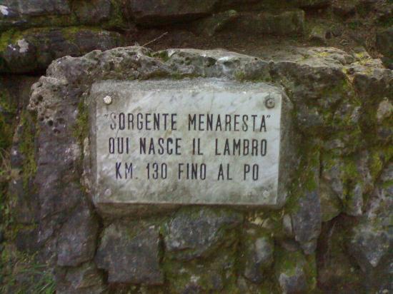 Civenna, İtalya: Sorgente del Lambro