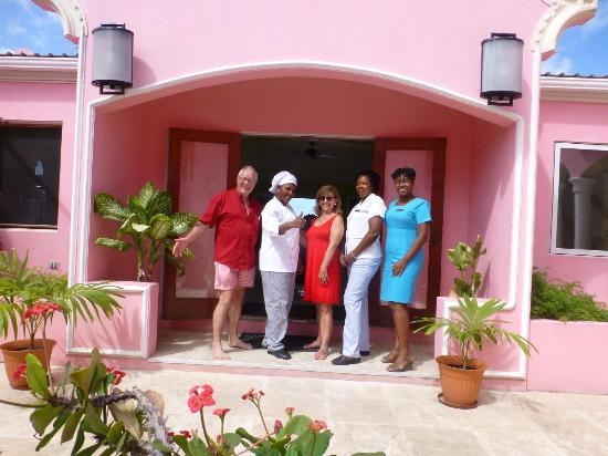 The Villas at Sunset Lane: With the staff