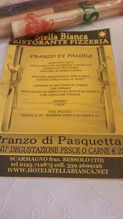 Scarmagno, إيطاليا: Ristorante Pizzeria Stella Bianca