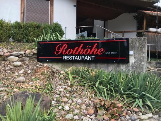 Oberburg, Schweiz: Rothohe