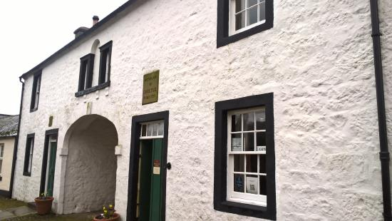 Thomas Carlyle's Birthplace: Unimposing exterior hides a wealth of Carlylean artefacts.