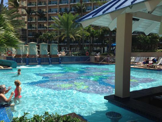 pool by swim up bar picture of san juan marriott resort rh tripadvisor com