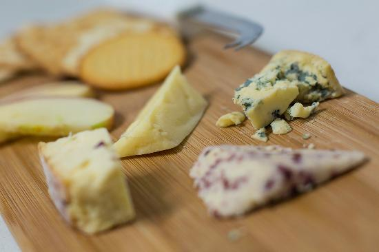 Carperby, UK: Wensleydale cheese board