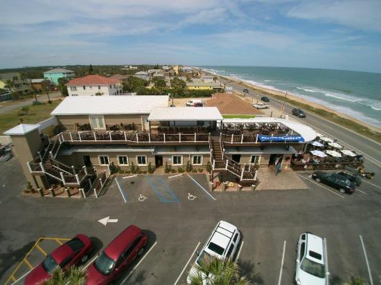 Oceanside Beach Bar And Grill Aerial Footage