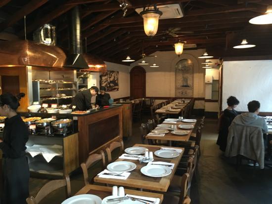 Rodizio Rico: Back of restaurant