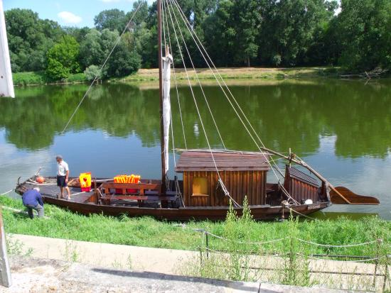 Chouze-sur-Loire, Francia: The view front your seat