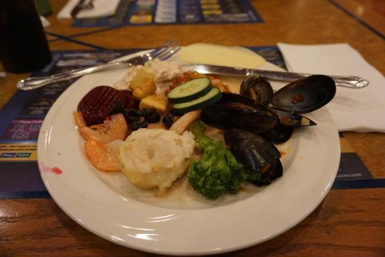 Ports O' Call Buffet: First plate