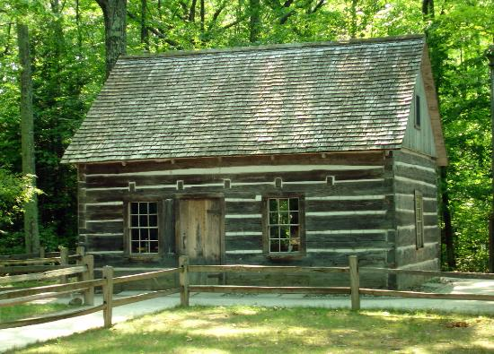 hesler log cabin at mission point circa 1850 s picture of mission rh tripadvisor com