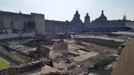 Templo Mayor Museum Mexico City