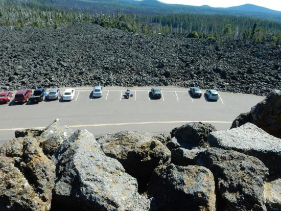 McKenzie Pass-Santiam Pass loop: View from the top of the observatory