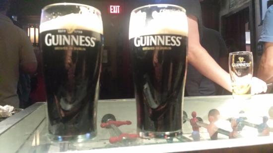 Playwright Irish Pub: Guiness draft @ The Playwright