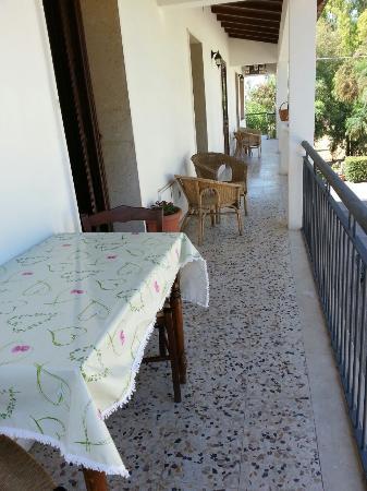 Villa Pia: Balcone