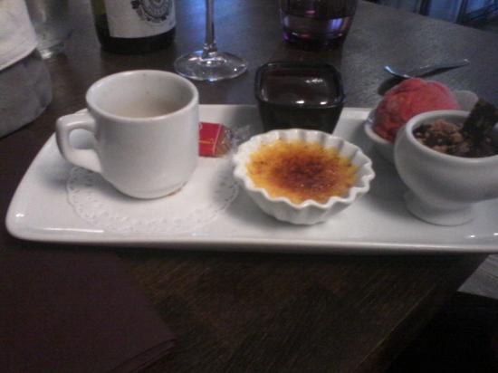Peymeinade, França: café gourmand