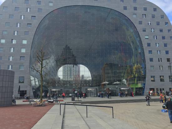 Wohnungen Mit Marktblick Picture Of Markthal Rotterdam Tripadvisor