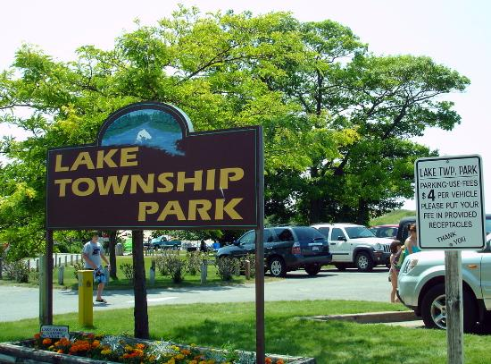Honor, MI: Park at Lake Township Park or the National Park