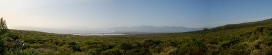 Grootbos Private Nature Reserve, แอฟริกาใต้: Panorama Zimmeraussicht