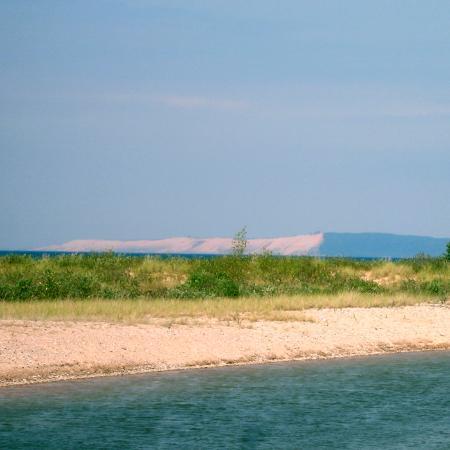 Honor, MI: Beautiful dune views at Platte Point Beach