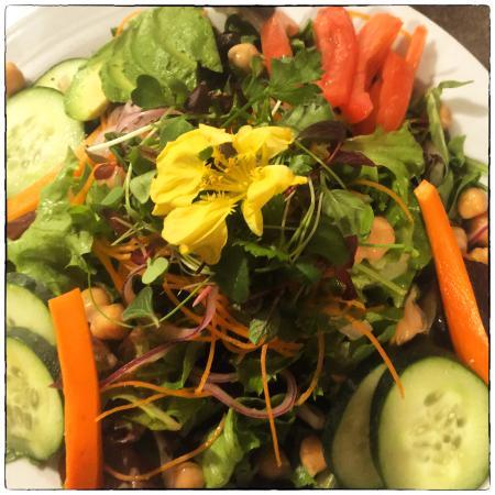 Garden Salad Cannon Beach Cafe Oregon