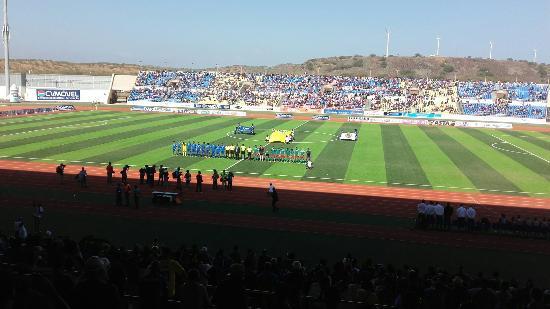 estadio nacional de cabo verde - picture of estadio nacional de cabo verde  praia