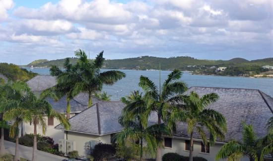 Nonsuch Bay Resort: View from our balcony.