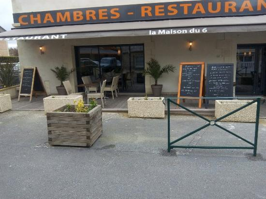 la maison du 6 arromanches les bains restaurant avis num ro de t l phone photos tripadvisor. Black Bedroom Furniture Sets. Home Design Ideas