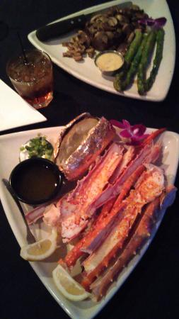 King Crab Legs With Baked Potato Picture Of Steve S Steakhouse