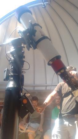 Hostal Michel: Unos de los 6 telescopios solares  que hay en el mundo