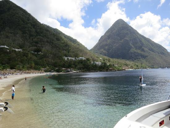 Treasure Tours St Lucia Sugar Beach Da Fare Olutamente Snorkeling