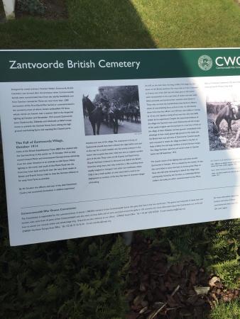 Zandvoorde British Cemetery