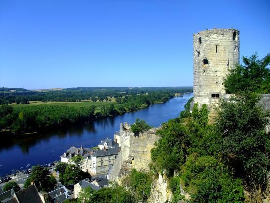 Forteresse royale de Chinon: Photo prise de la forteresse
