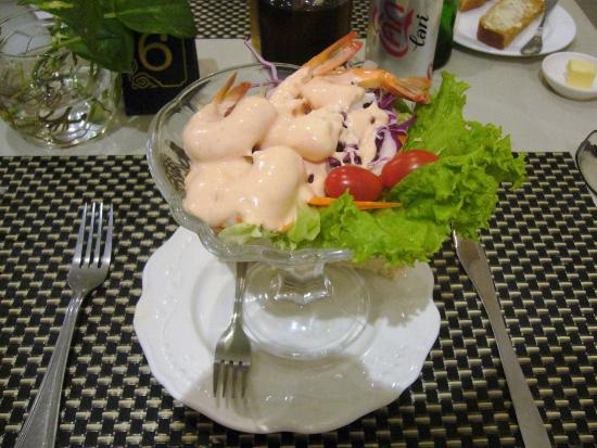 Cafe Ritz: Prawn cocktail
