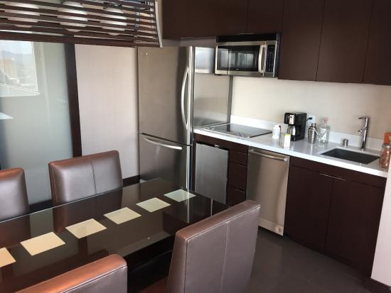 view of kitchen picture of vdara hotel spa at aria las vegas rh tripadvisor com au