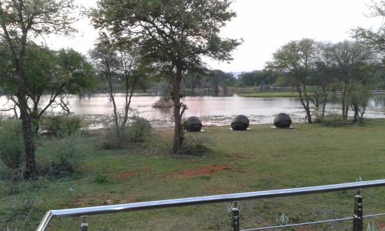 Palala Boutique Game Lodge and Spa: Your view ftom the pool area