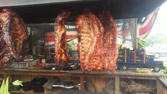 Restaurante Garra-Pata: Costillas cerdo