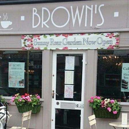 Browns tea room picture of browns cafe bistro leicester browns cafe bistro browns tea room sciox Gallery
