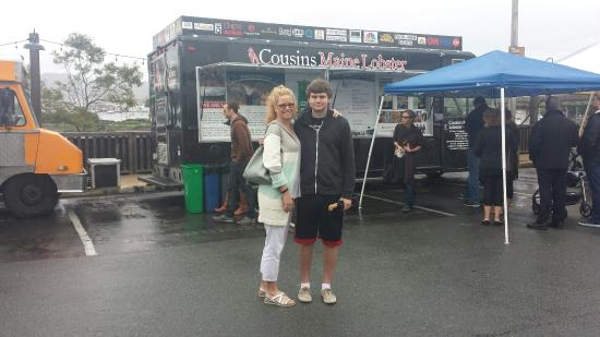 Lobster Tots! - Picture of Cousins Maine Lobster, Raleigh - TripAdvisor