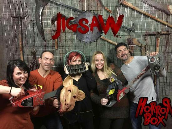 Espectacular Jigsaw Fotograf 237 A De Horror Box Barcelona