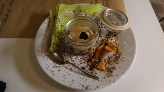 Borgo a Buggiano, Italia: Dessert di cui non ricordo la composizione
